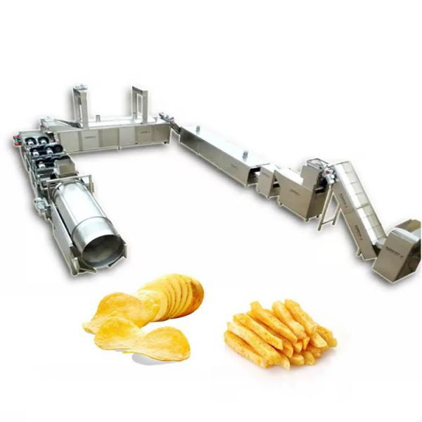 800kg/H Industrial Frying Machines Potato Chip Fries Machine for Sale #1 image