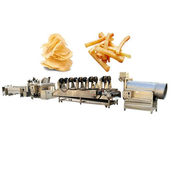 800kg/H Industrial Frying Machines Potato Chip Fries Machine for Sale #2 image