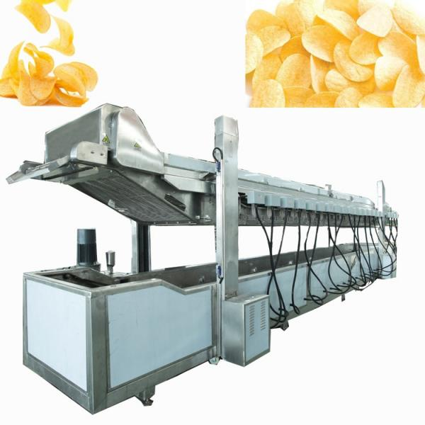 800kg/H Industrial Frying Machines Potato Chip Fries Machine for Sale #3 image