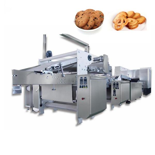 Fully Automatic Food Packaging Production Line for Wafer Biscuits Cereal Bar Wrapping Machine Cookies Feeding Flow Packaging Line #3 image